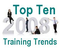 2008 top 10 trends in business training